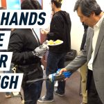 This waist-mounted robot arm will shake hands and open doors for you