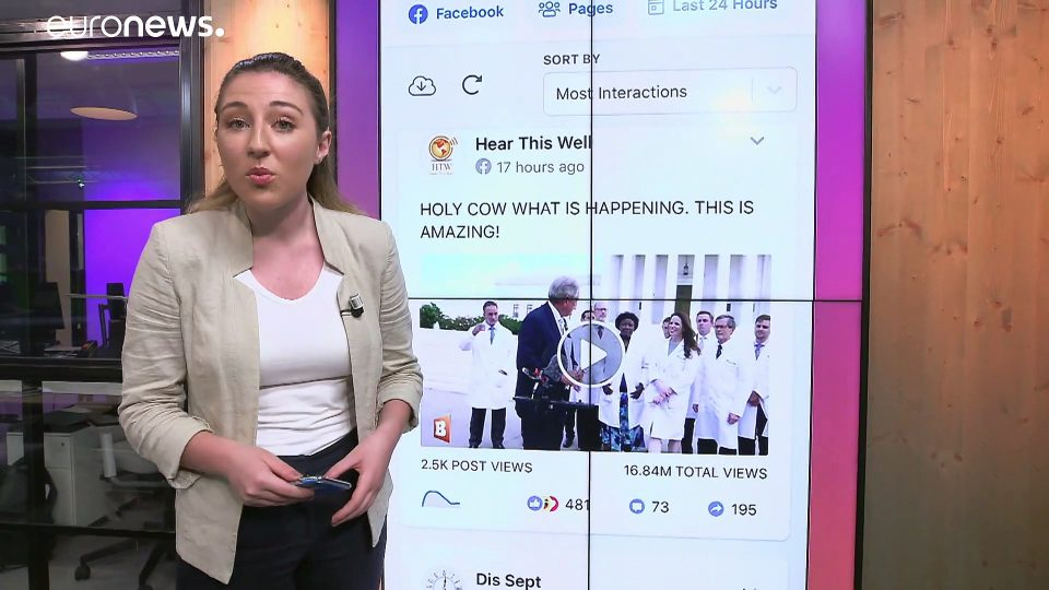 Viral 'misinformation' video about hydroxychloroquine causes problems for social media platforms