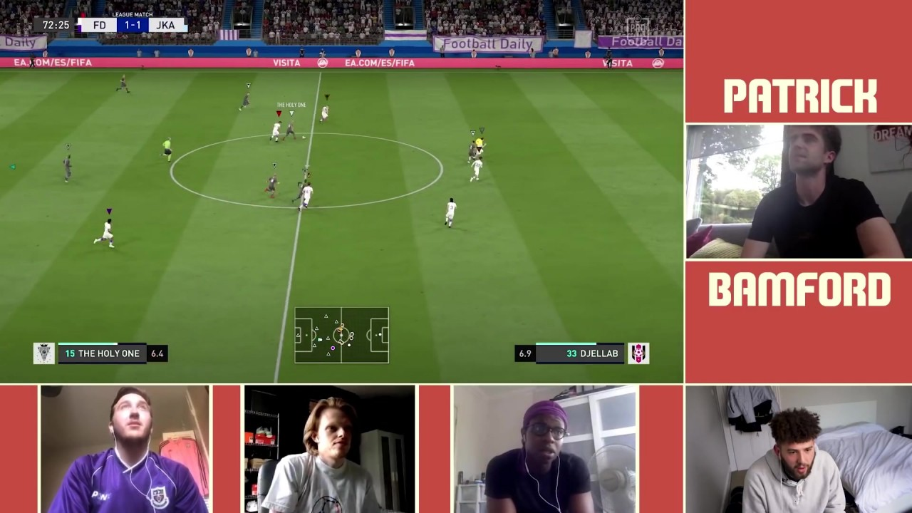 WE PLAYED FIFA 20 PRO CLUBS WITH LEEDS UNITED STAR STRIKER PATRICK BAMFORD!