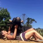 Watch Yoga Instructor Calms Huge Buffalo With Singing Bowl!