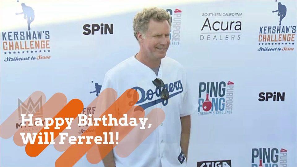 Will Ferrell's Day
