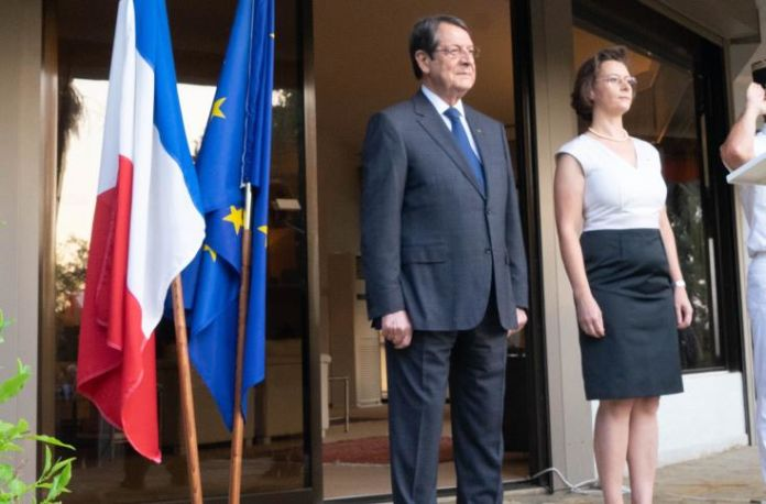 Anastasiades commends France's determination to act as pillar of stability in East Med 4