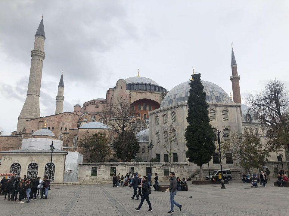 Here's what I think: The reconversion of the Ayasofya 14