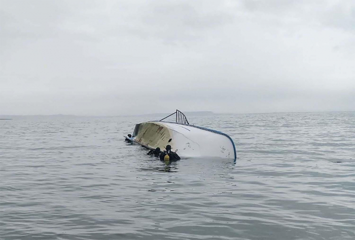 Boat that sank on Turkey's Lake Van was carrying up to 60 migrants, minister says 15