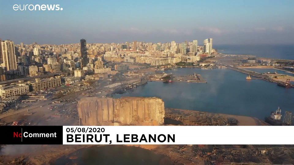 Cataclysmic explosion sows devastation in Lebanese capital