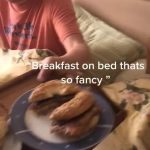Daughter Surprises Dad With Breakfast in bed for Father's Day During Quarantine