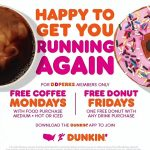 Dunkin' Deals! Dunkin' Starts Free Coffee & Donuts Deal (But There's a Catch)
