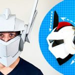 How to Build a Cardboard Robot Helmet