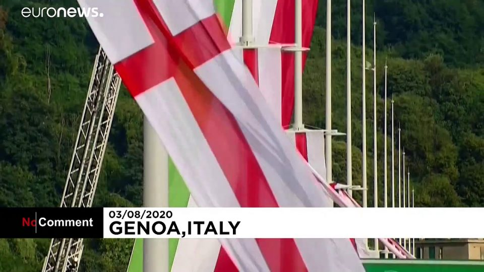 Italy inaugurates new bridge after deadly collapse