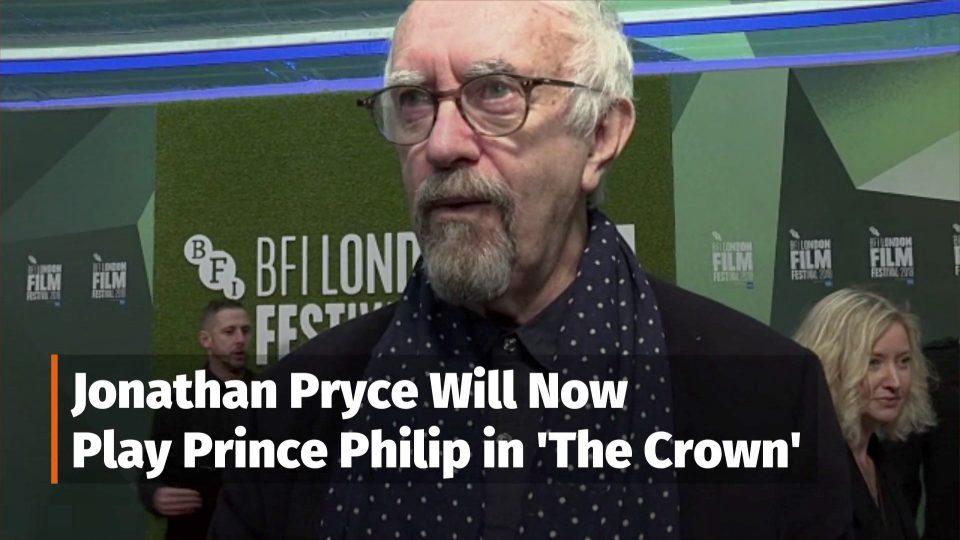Jonathan Pryce Becomes Prince Philip