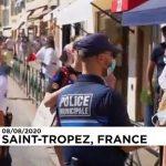 St Tropez resort makes masks mandatory outdoors