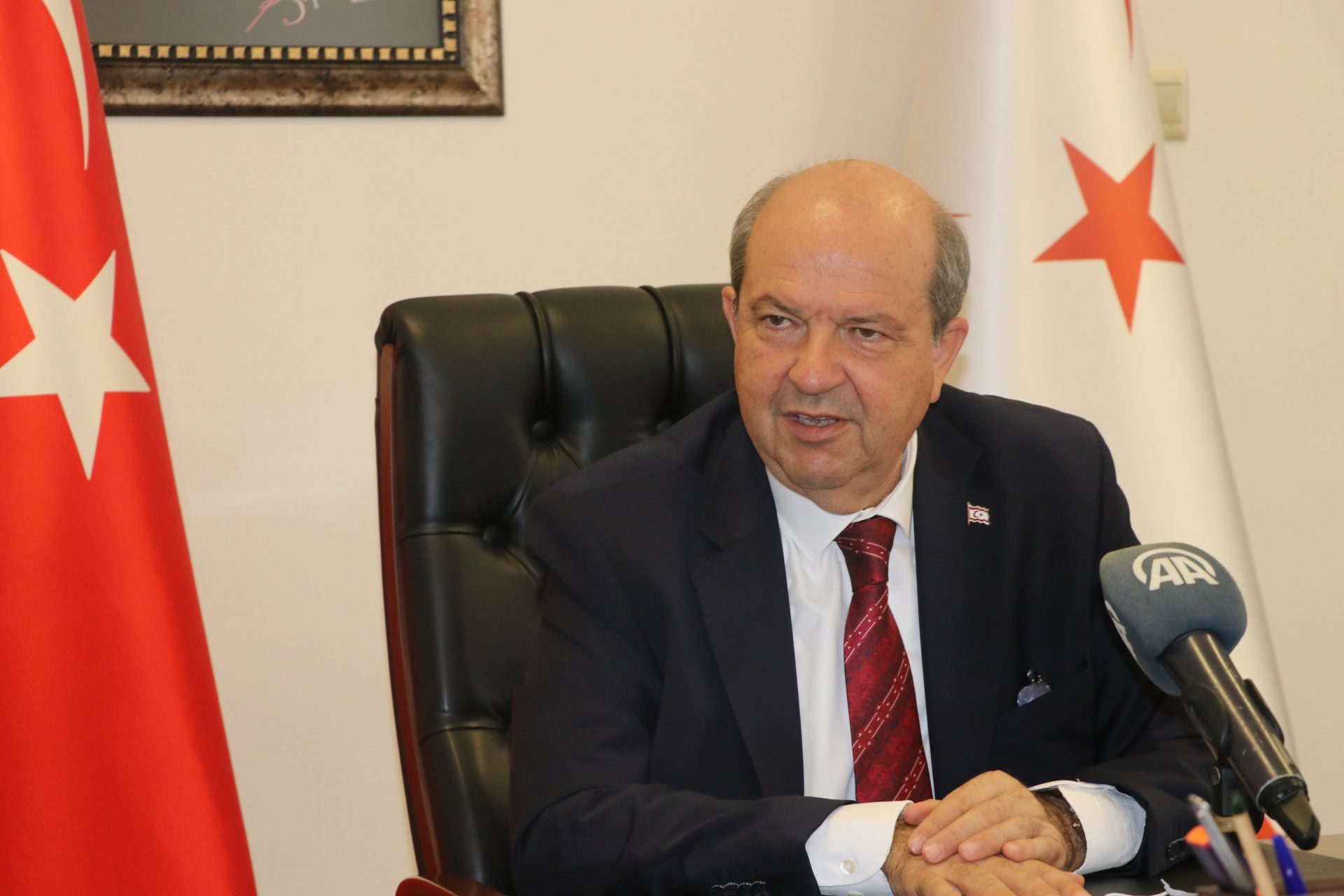 """Tatar: """"We will not let our rights be violated in the Eastern Mediterranean"""" 22"""