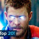 Top 20 Most Rewatched Marvel Movie Scenes