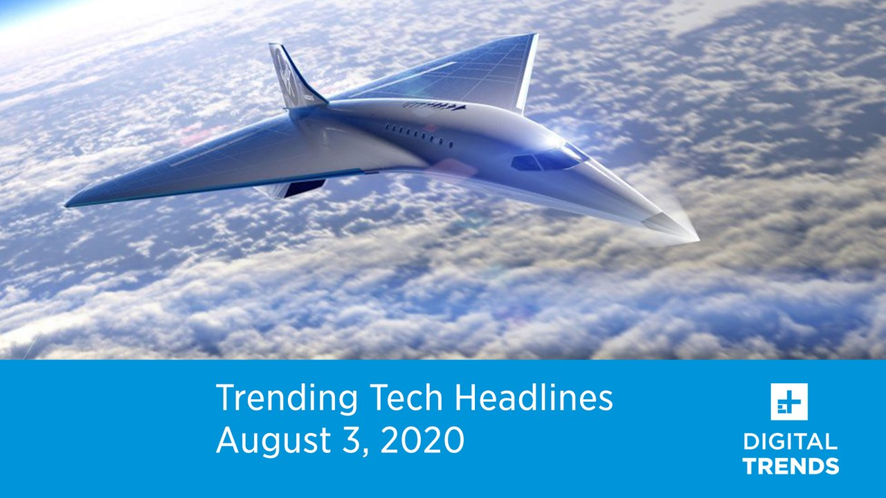 Trending-Tech-Headlines-8.3.20-Virgin-Galactic-Mach-3-Airliner