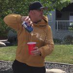 Wind Blows Beer Away