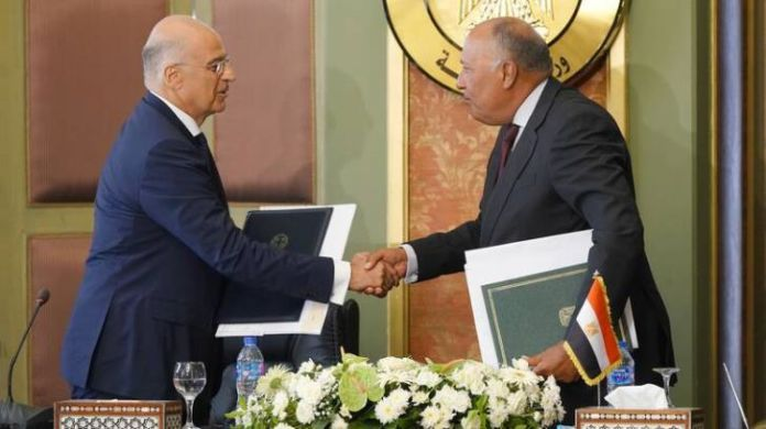 Egypt and Greece sign agreement on exclusive economic zone 22