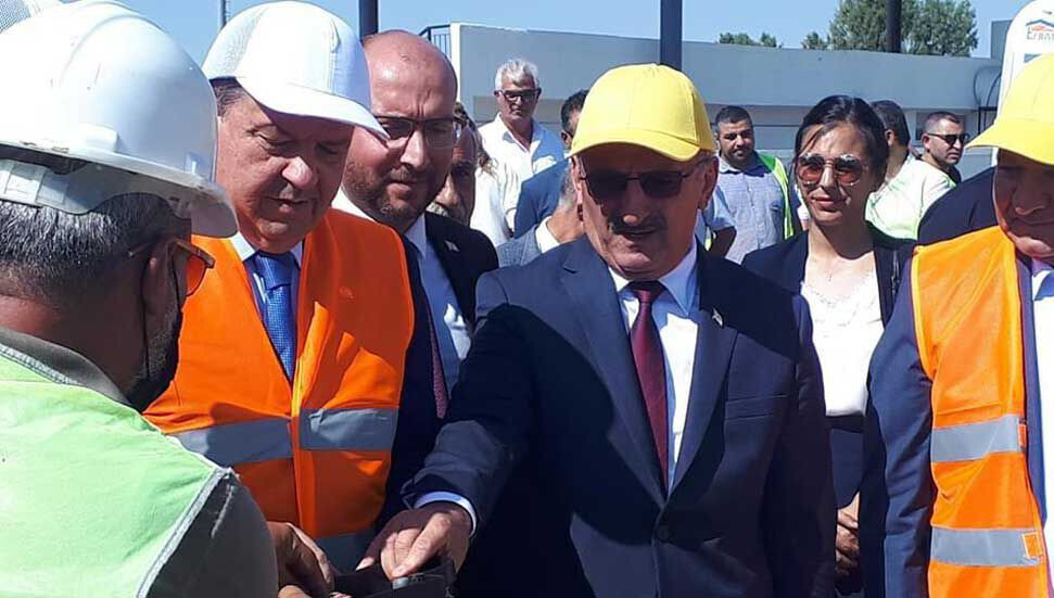 Foundation of the İskele Turkish Maarif College building has been laid: the opening is aimed for March 2021 20