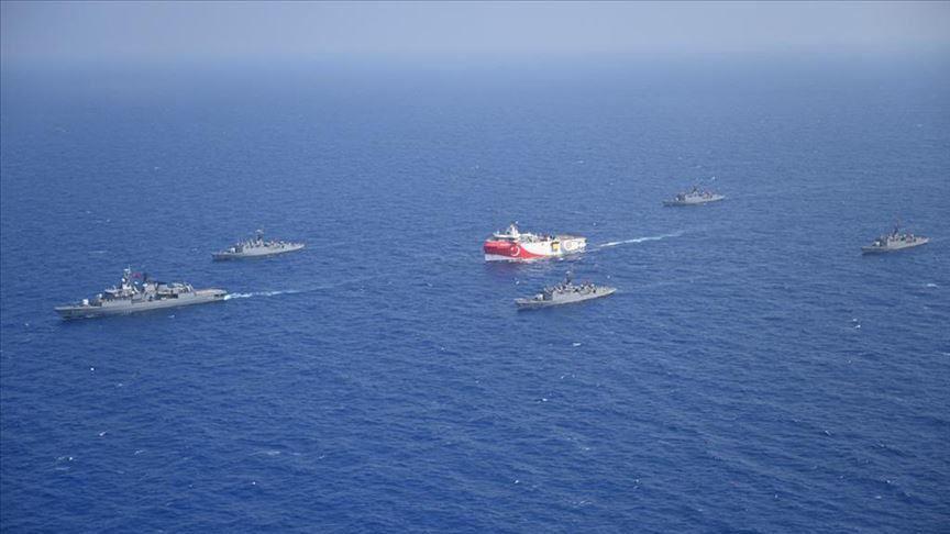 Turkey breaking blockade in Eastern Med. with Oruc Reis 19