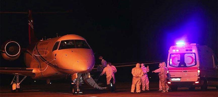 TRNC: Covid-19 patients Transferred to Turkey Last night 27