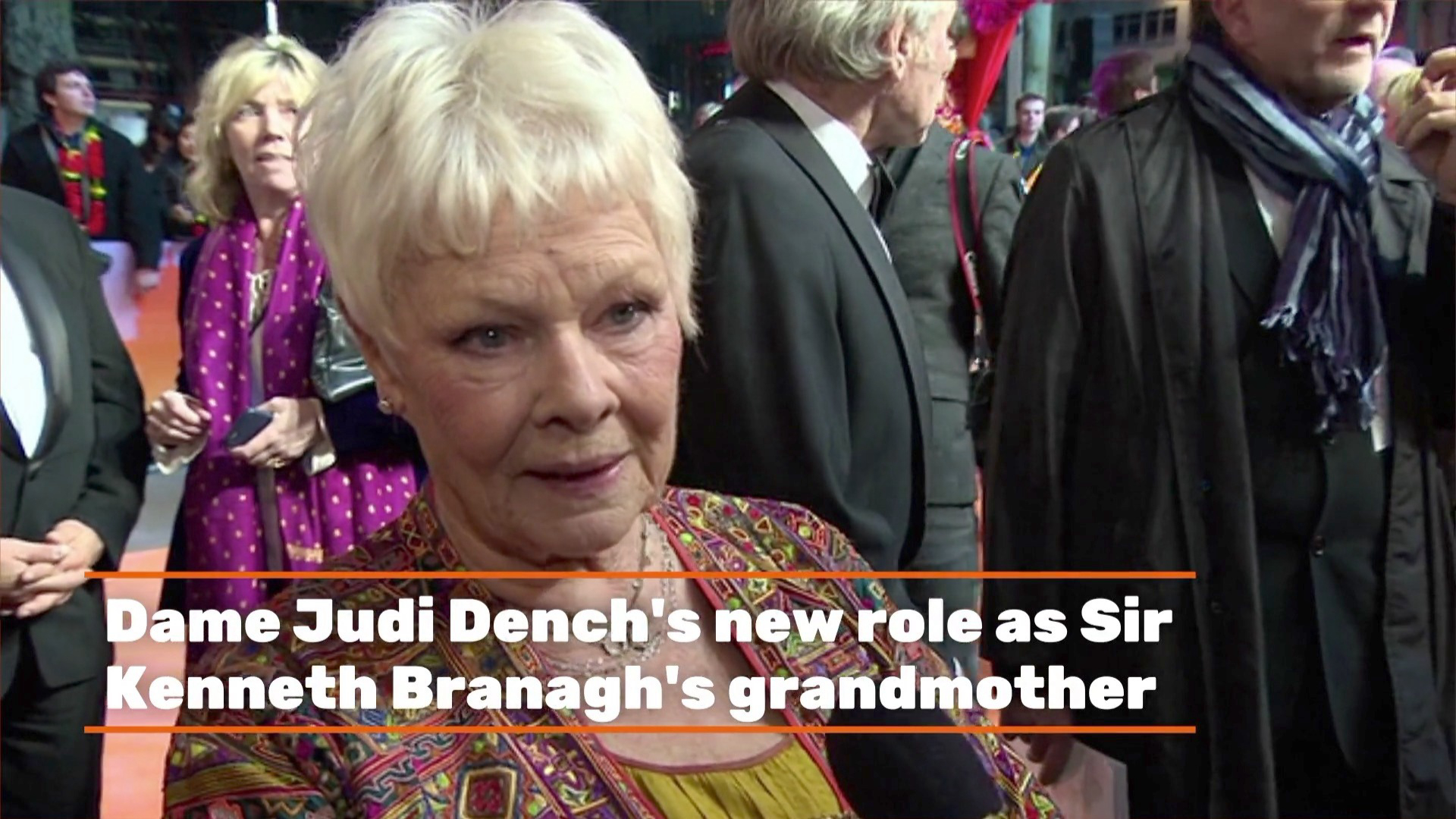 Dame Judi Dench's New Role