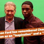 Harrison Ford Misses Chadwick Boseman