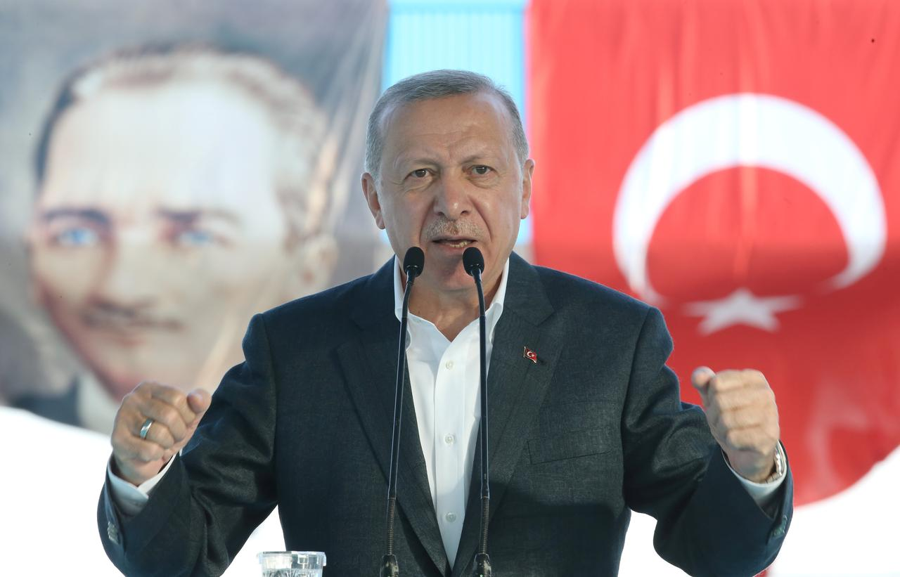 Turkey's Erdogan says East Med is test of EU's sincerity 22
